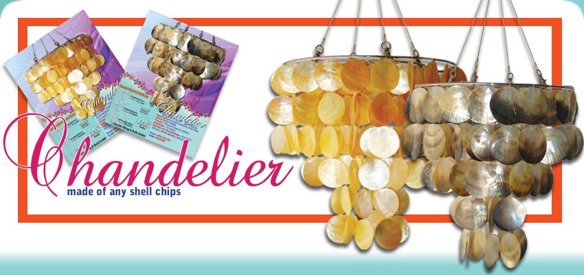 Handmade Philippine Product Made Of Capiz Shells